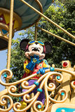 MICKEY MOUSE ON PARADE. Celebrate Christmas New Year Festival on December 31, 2012 in Disneyland, Hong Kong Royalty Free Stock Image