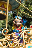 MICKEY MOUSE ON PARADE. Celebrate Christmas New Year Festival on December 31, 2012 in Disneyland, Hong Kong Stock Image