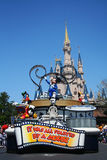 Mickey Mouse parade at Magic Kingdom park Royalty Free Stock Photos