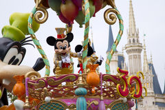 Mickey Mouse. Parade in Tokyo Disneyland royalty free stock photos