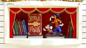 Mickey mouse and pluto Stock Images