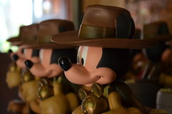 Mickey Mouse statues Royalty Free Stock Images
