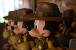 Mickey Mouse statyer Royaltyfria Bilder