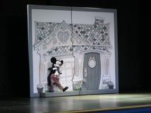 Mickey Mouse sur l'étape Images stock