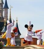 Mickey Mouse y amigos del cuento de hadas Fotos de archivo libres de regalías