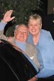 Mickey och Jan Rooney royaltyfri fotografi