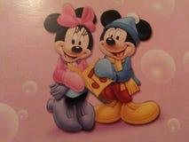 Mickey och kortkort Royaltyfri Fotografi