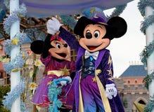 Mickey och Minnie Arkivbild