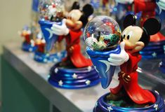 Mickey och Minnie Mouse garnering Royaltyfri Bild
