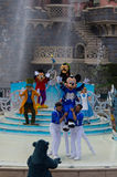 Mickey presents:Happy Anniversary Disneyland Paris Stock Photography