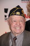 Mickey Rooney Lizenzfreies Stockfoto