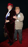 Mickey Rooney and wife Jan Rooney Royalty Free Stock Image