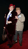 Mickey Rooney and wife Jan Rooney Stock Photo