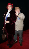 Mickey Rooney and wife Jan Rooney Stock Photos