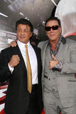 Mickey Rourke,Sylvester Stallone Royalty Free Stock Images