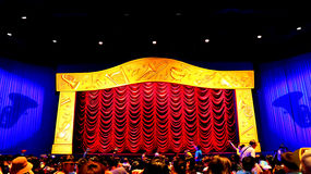 Mickey's philhar magic 4d theater at disneyland, hong kong Royalty Free Stock Photo