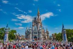 Mickey`s Royal Friendship Faire on Cinderella Castle in Magic Kingdom at Walt Disney World Resort 4