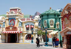Mickey's toontown  in Disneyland Royalty Free Stock Photography
