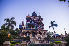 Mickey s toontown in Disneyland royalty-vrije stock foto