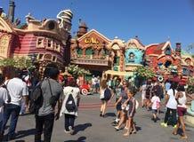 Mickey`s Toontown, Disneyland, california royalty free stock photos