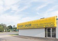 Mickey Shorr Samochodowy stereo, Woodward sen rejs, MI Obraz Royalty Free