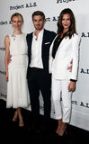 Mickey Sumner, Dave Annable, Odette Annable Stock Photography