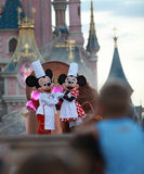 Mickey u. Minnie Maus stockfoto