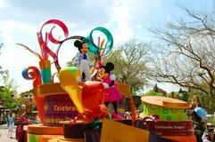 Mickey y Minnie Mouse Foto de archivo