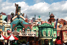 Mickeys toontown in Disneyland Lizenzfreie Stockfotos