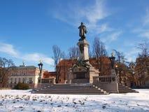 Mickiewicz-Monument Stockfotos