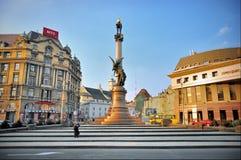Mickiewicz Square Stock Photo