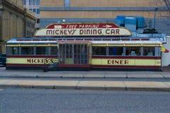 Micky's-Speisewagen stockbilder
