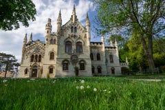 Miclauseni-Schloss Stockfotos