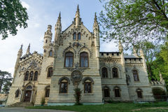 Miclauseni-Schloss in Rumänien Lizenzfreie Stockfotografie