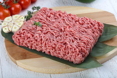 Micned raw Beef Stock Photos