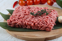 Micned raw Beef Royalty Free Stock Photo
