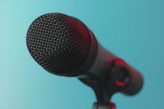 Micrófono 01 Foto de archivo libre de regalías