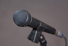 Micrófono Imágenes de archivo libres de regalías