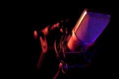 Micrófono 1 Fotografía de archivo