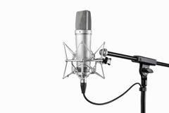 Micrófono 1 Fotos de archivo libres de regalías