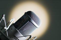 Micrófono. Foto de archivo libre de regalías