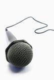 Micrófono aislado Imagen de archivo