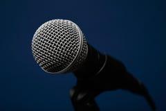 Micrófono audio Fotografía de archivo libre de regalías