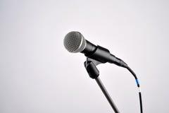 Micrófono audio Fotos de archivo libres de regalías