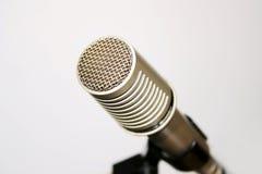 Micrófono clásico del discurso fotos de archivo