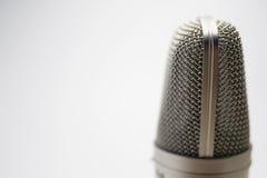 Micrófono de condensador Fotos de archivo