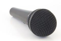 Micrófono de Isoltaed en el fondo blanco imagen de archivo