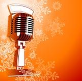 Micrófono de la vendimia