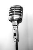 Micrófono de Radioland foto de archivo
