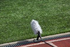 Micrófono del deporte profesional Imágenes de archivo libres de regalías